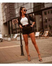 Дамски комплект в черно - код 9960