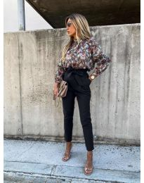 Елегантен панталон в черно - код 788