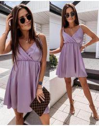 Елегантна рокля в лилаво - код 1000