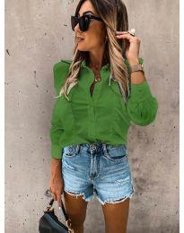 Дамска риза в зелено - код 872