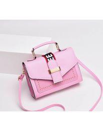 Дамска чанта в розово - код B104