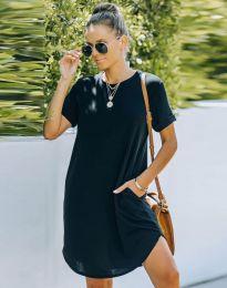 Свободна рокля в черно - код 38444