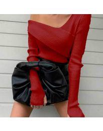 Елегантна блуза в червено - код 6250