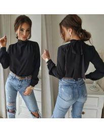 Дамска блуза в черно - код 833