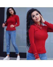 Дамска блуза в червено - код 05333