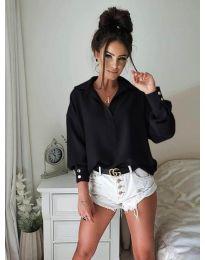 Елегантна риза в черно - 9898