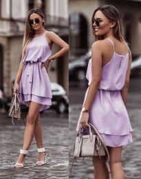 Феерична рокля в светлолилаво - код 2104