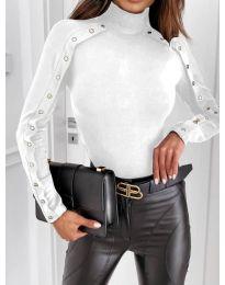 Дамска блуза в бяло - код 4179