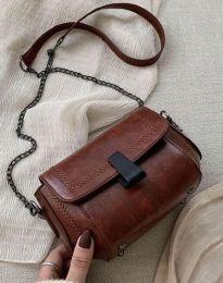 Дамска чанта в кафяво - код B415