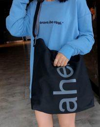 Ефектна дамска чанта в черно - код B293
