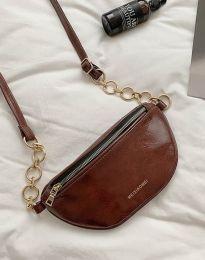 Дамска чанта в тъмнокафяво - код B334