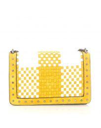 Дамска чанта в жълто - код 92083