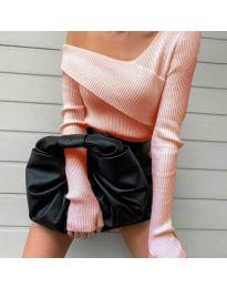 Елегантна блуза в розово - код 6250