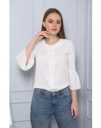 Дамска блуза в бяло - код 0629