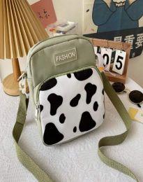 Атрактивна дамска чанта в зелено - код B578