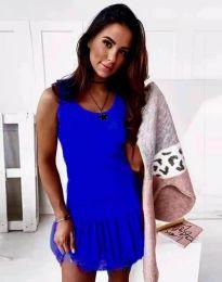 Дамска рокля в синьо - код 2994