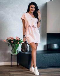 Дамска рокля в розово - код 3214