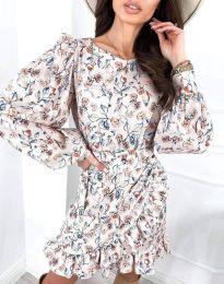 Стилна дамска рокля - код 8114 - 2