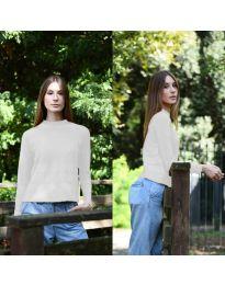 Дамска блуза в бяло - код 912