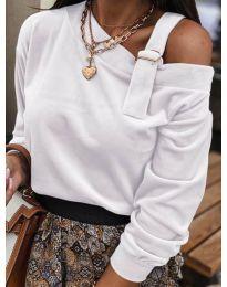 Дамска блуза в бяло - код 280