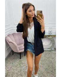 Дамско сако в черно - код 8031