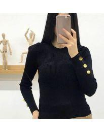 Дамска блуза в черно - код 6669