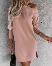 Дамска рокля в розово - код 0796