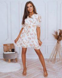 Дамска рокля с флорален десен - код 4082 - 5