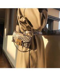 Дамска чанта в бежово - код B20