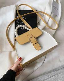 Дамска чанта в бежово - код B439