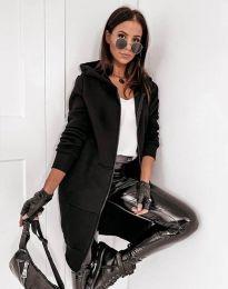 Дамско яке в черно - код 0266