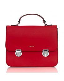 Червена дамска чанта - LS567