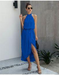 Свободна рокля в синьо - код 100