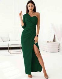 Елегантна рокля в зелено - код 4511
