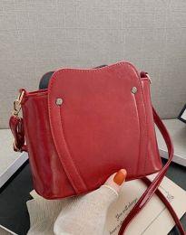 Дамска чанта в цвят бордо - код B454