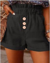 Къси панталонки в черно  - код 9383