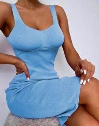Дамска рокля в светлосиньо - 10122