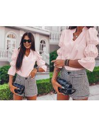 Елегантна риза в розово - 913