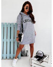 Спортна рокля в сиво - код 802