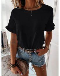 Дамска тениска в черен цвят - код 068