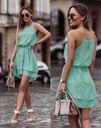 Феерична рокля в цвят мента - код 2104
