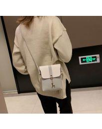 Дамска чанта в сиво - код B72