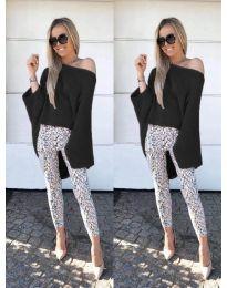 Дамска блуза в черно - код 937