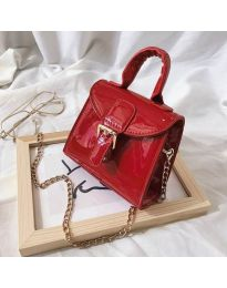 Дамска чанта в  червено - код B140
