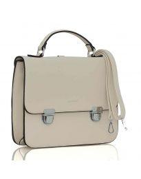 Бежова дамска чанта - LS567