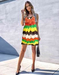 Атрактивна дамска рокля - код 0969 - 1