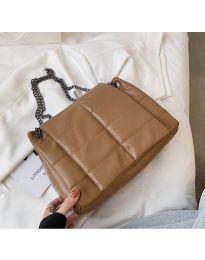 Дамска чанта в кафяво - код B506