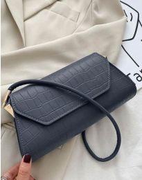 Дамска чанта в цвят тъмносиньо - код B422