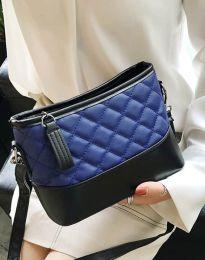 Атрактивна дамска чанта в тъмносиньо - код B305