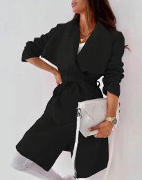 Дамско палто в черно - код 0960